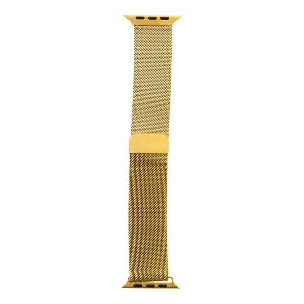 Kovový magnetický remienok Tactical 353 Loop Apple Watch 42/44m zlatý