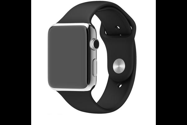 Silikónový remienok Tactical 488 Apple Watch 42/44mm čierny