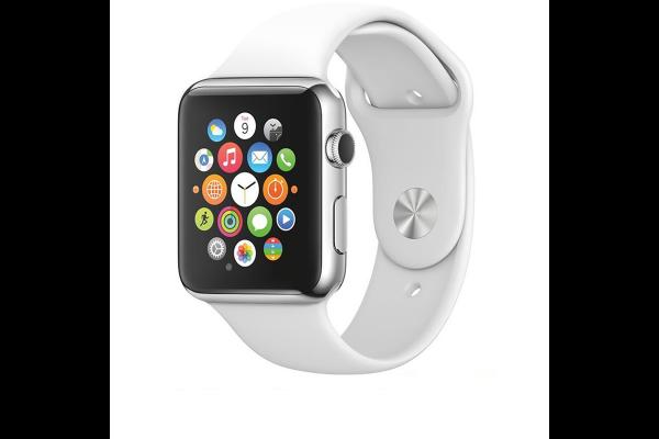 Silikónový remienok Tactical 499 Apple Watch 42/44mm biely #00002407