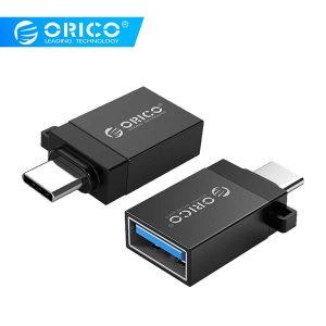Redukcia ORICO OTG USB – Type C čierna