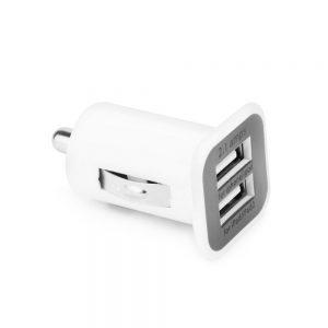 Autonabíjačka QWE CC-YSS 2x USB 2,1A biela
