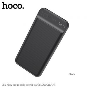 Power Bank HOCO New Joy J52 10 000mAh čierna