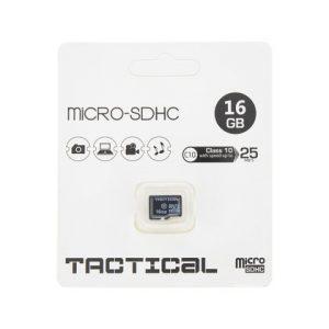 Pamäťová karta micro SDHC Tactical 16GB class 10 bez adaptéra