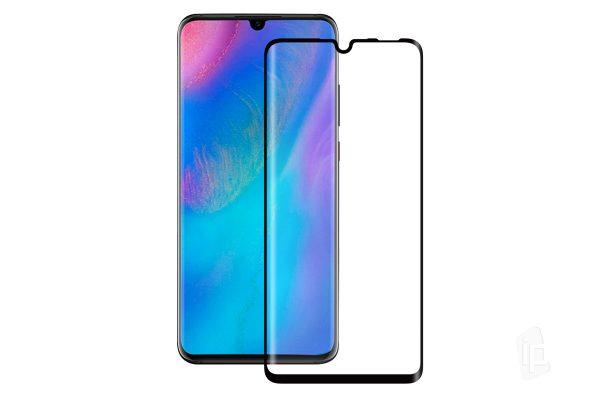 HARD Full Glue 5D ochranné tvrdené sklo – Huawei P30 Pro čierne #00002742