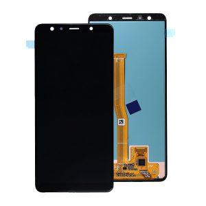 Samsung Galaxy A7 2018 (A750F) – Originál LCD displej a dotyková plocha čierny (Service Pack)
