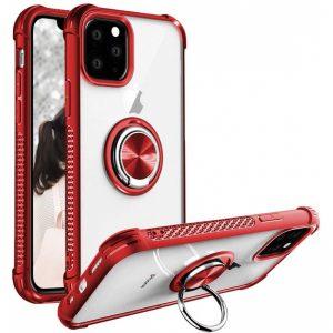 Púzdro Anti-Fall Ring iPhone 11 Pro červené
