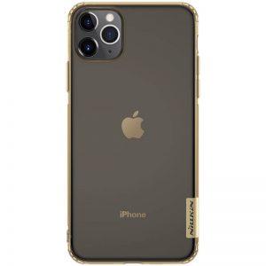 Púzdro Nillkin Nature TPU – iPhone 11 zlato-hnedé