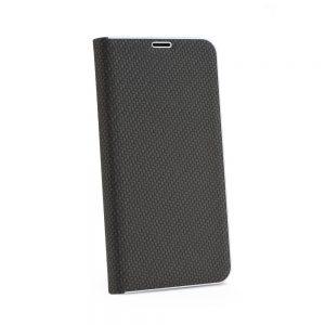 Knižka Luna Book Carbon – Huawei Y6 2019 čierna
