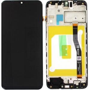 Samsung Galaxy M20 (M205F) – Originál LCD displej a dotyková plocha s rámom čierny (Service Pack)