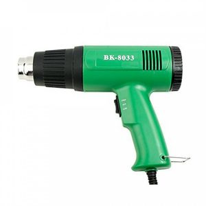 Teplovzdušná pištol BAKU BK-8033 zelená