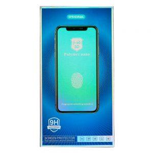 HARD CERAMIC – keramické ochranné tvrdené sklo pre Samsung Galaxy S9 čierne #00002789