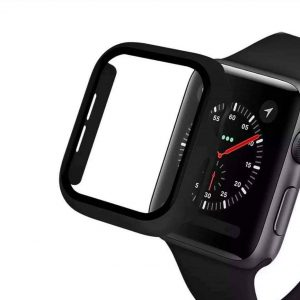 KINGMAS púzdro 360 2v1 Apple Watch Series 4/5/6/SE 40mm čierne CA00123E