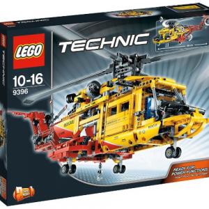 LEGO Technic 9396 Helikoptéra – otvorená krabica
