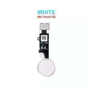 Flex Home button iPhone 7/8/SE 2020/7 Plus/8 Plus bielo-strieborný